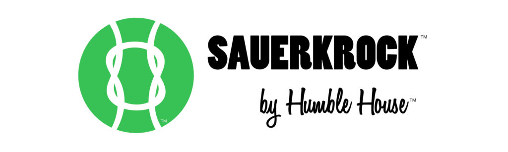 humble house sauerkrock sauercrock simple living company sauerkraut crock fermentation logo banner
