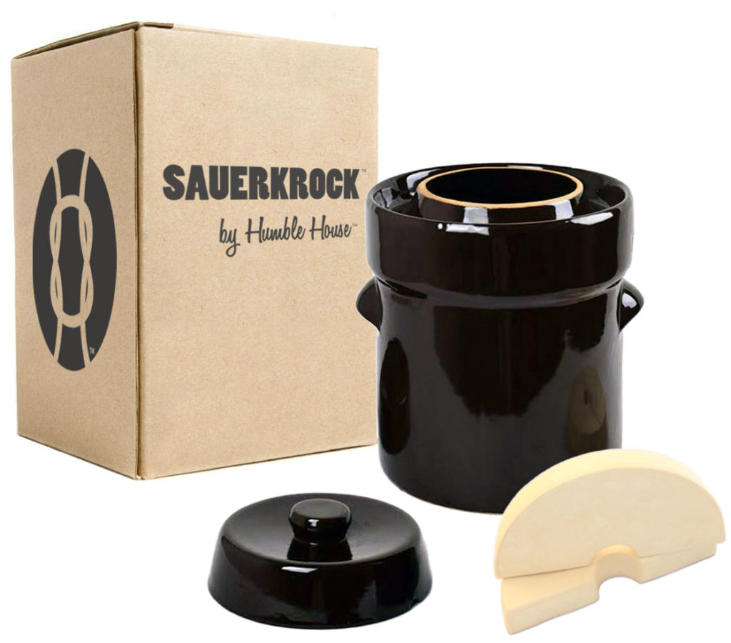 humble house sauerkrock simple living company sauerkraut crock