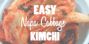 Easy Napa Cabbage Kimchi Recipe Photo