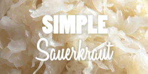 Simple Sauerkraut Recipe Photo