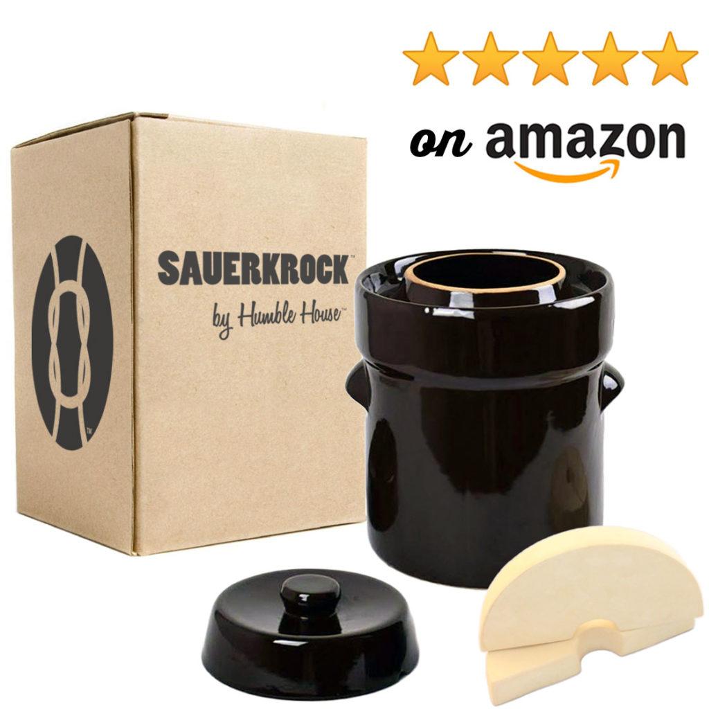 Humble House Sauerkrock Simple Living Company Fermentation Sauerkraut Crock Amazon Shop