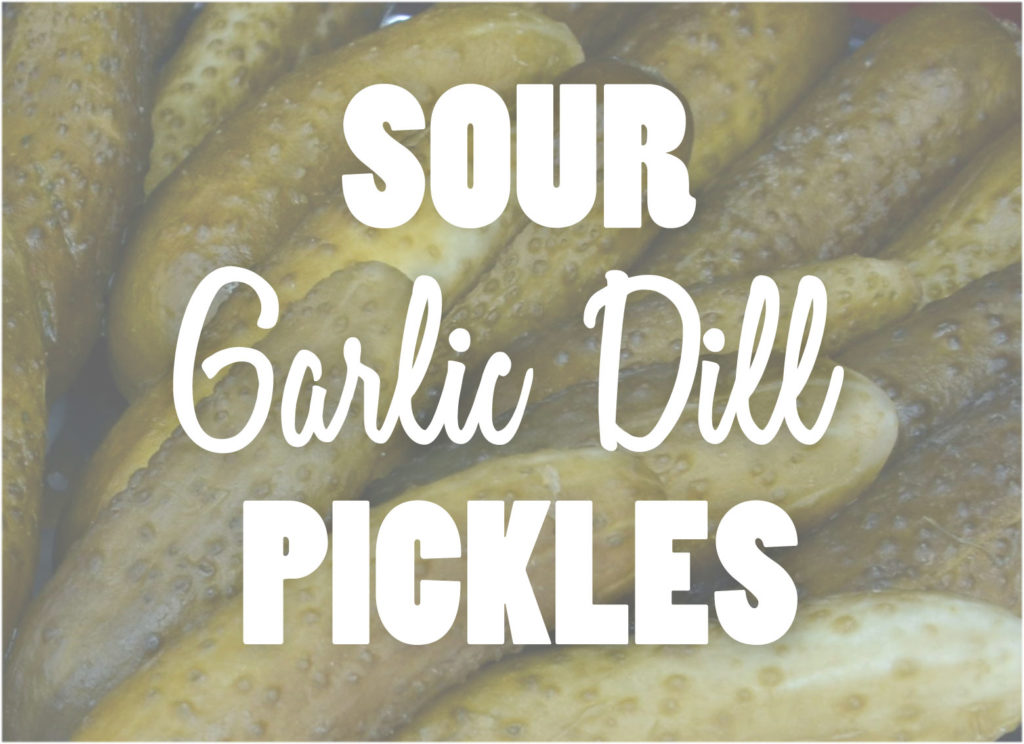 humble house sauerkrock fermented sour garlic dill pickles recipe