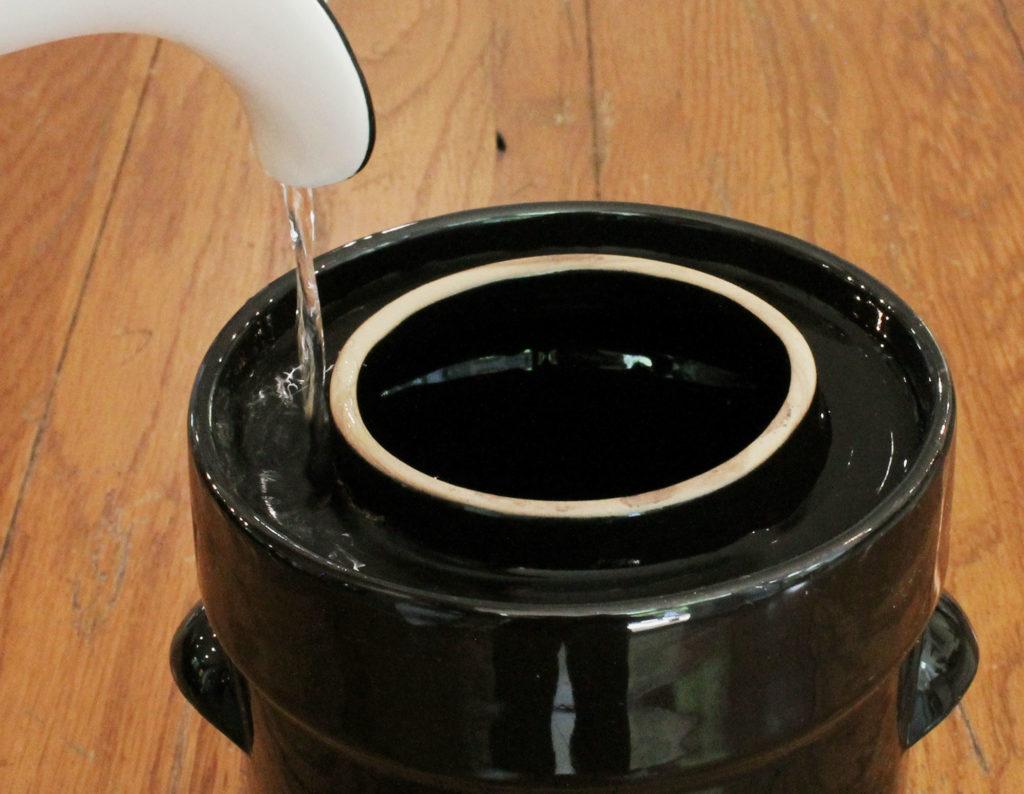 Humble House Sauerkrock Water Sealed Fermentation Crock